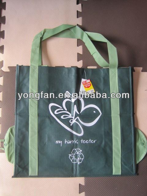 non woven reusable foldable shopping bag