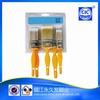 professional PET polyester economical plastic handle brush set