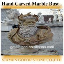 buste en marbre sculpté à la main pour la vente