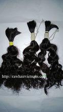 Human hair weaving Brazillian hair extensions sewing machine