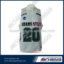 custom club men's green mesh basketball jersey