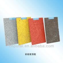 Painted Aluminum foam panel/Buy Sound Absorbing Colorful Aluminum Foam Panels/Colorful Acoustic Aluminum Foam Panel