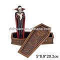 رخيصة الراتنج تمثال نعش دراكولا مصاص دماء هالوين