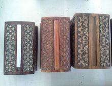 Wood Cigarette Case