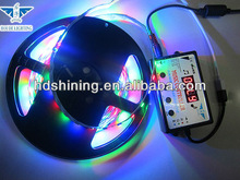 New arrival!!HOUDE BRAND CE&ROSH Music control RGB 5050 Kit 60leds/meter RGB Color for Jewelry Shop Decorations