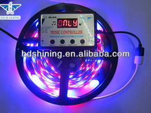 New arrival!!HOUDE BRAND CE&ROSH Music control RGB 5050 Kit 60leds/meter RGB Color for shose shop Decorations