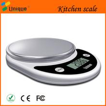Alta calidad 5 kg digital gramos escala