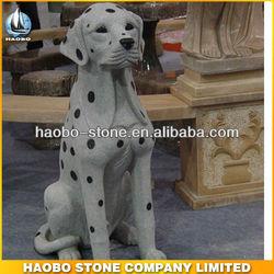 Haobo Animal Dog Granite Stone Sculpture Help