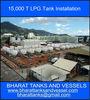 15,000 T LPG Tank Installation