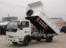 right hand driving 2-3 ton small tipper trucks, small dump truck
