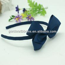 Lt Blue Ribbon Hair Band For Girls