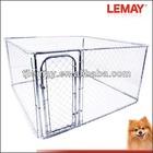 7.5' x 7.5' x 4' chain link outdoor pet playpen rabbit kennels