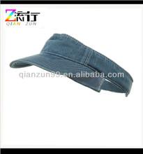 Custom Denim Sun Visor Hat