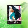 Profesionales orgánica del tinte del pelo, suministro de muestras gratuitas