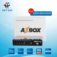Digital Satellite Receiver Smart Box AZ Bravissimo Ali 3606 Linux System