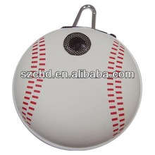 Pretty promotional world cup gift mini speaker baseball
