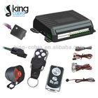 Anti-scanning vibration remote car alarm security system