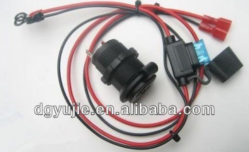 Accessory socket, Power Outlet Jack Automotive12 Volt Marine Motorcycle