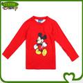 O costume 100% algodão disney impresso vestuário infantil fabricante na china