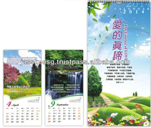 Calendar Table wall Spiritual Gifts Church Christian