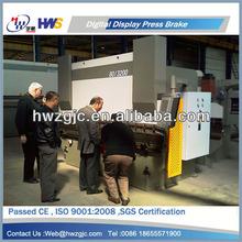125 Tons carton steel hydraulic CNC press brake with standard configuration