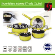 Aluminum nonstick porcelain cookware high quality