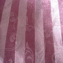 100%polyester stripe jacquard fashion pile design drapery fabric