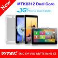 """7 """" MTK8312 Tablet pc 3 G GPS wifi"""