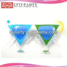 party popper and paper party mask for celebration children face mask