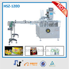 HZ120BD China CE Automatic carton machine packaging machine for meat