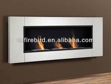 Ethanol fireplace FD30B + 3x1.5L burner + Stainless steel