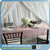 wedding white backdrop curtain fabric design