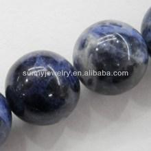 blue gemstone names, round 4-16mm, 16-inch per strand