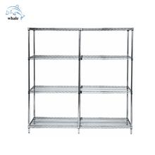 NSF & ISO Cert free standing metal shelves