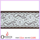 Fancy lace for wedding dresses with keyhole back