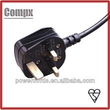 13A 250V UK power cord plug