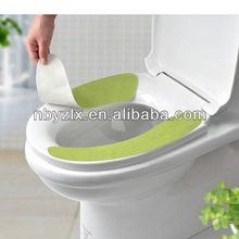 Portable toilet seat cover / toilet seat pad / toilet seat mat for traveling