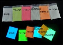 photoluminescent pigment/glow in the dark powder/glow powder