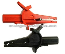 Insulated crocodile clips 30A
