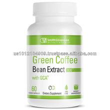 De alta qualidade suplemento verde cápsulas de café