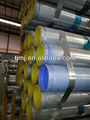 Galvanisé bs1387/gi tuyaux rainurés épreuve de pression d'eau