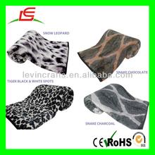D835 X Large Soft & Warm Fur Animal Printed Mink Blanket