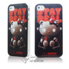 Fashionable personalized cell phone case for iphone4/4s from custom case manufacturer in china