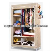 Fashion Wardrobe Closet, Bedroom Metal Cabinet