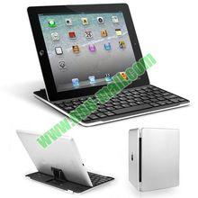Ultrathin Aluminum Wireless Bluetooth Keyboard with Holder for iPad