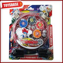 Promotional metal beyblade toy plastic beyblade super beyblade top
