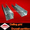 Galvanized steel channel for drywall gypsum profile
