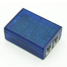 Safe fast splitter adsl in line rj11 1 to 2 (phone modem)