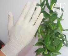 Latex gloves wholesale /lightly powder& powder free /milk white&beige