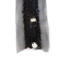 Fashion wholesale handmade beaded neckline trims for garments